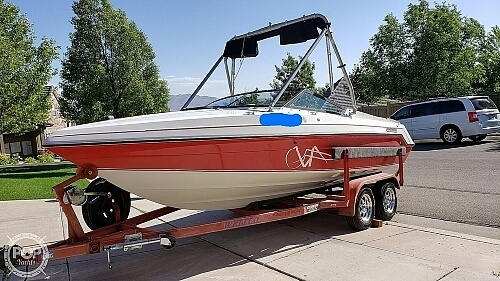 1991 Rinker boat for sale, model of the boat is V206 Captiva & Image # 2 of 40