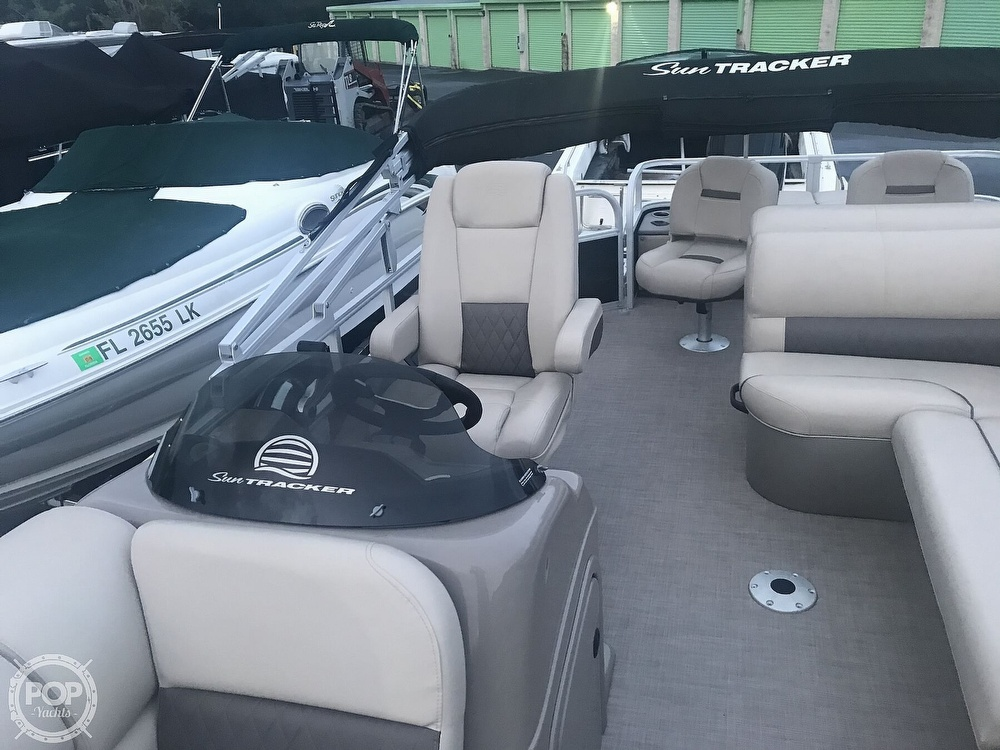 2020 Sun Tracker boat for sale, model of the boat is Fishin Barge 22 DLX & Image # 41 of 41