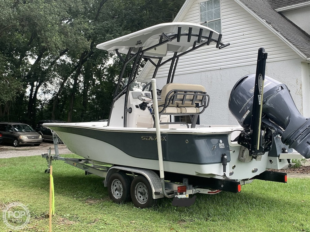 2017 Sea Fox boat for sale, model of the boat is 220 Viper & Image # 11 of 40