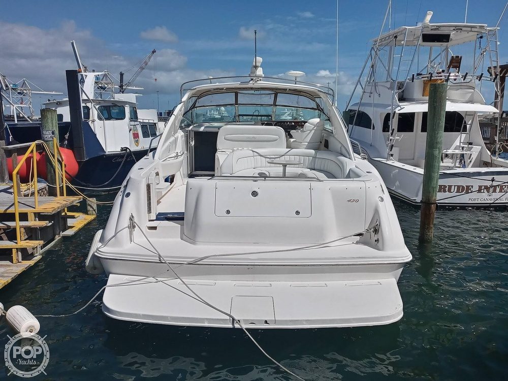 1998 Sea Ray boat for sale, model of the boat is 450 Sundancer & Image # 16 of 40