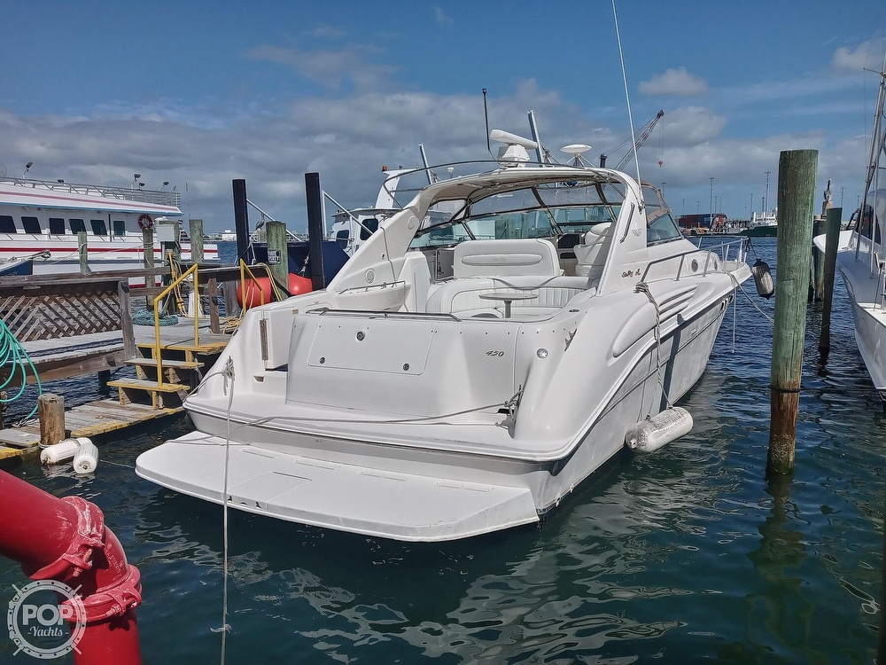 1998 Sea Ray boat for sale, model of the boat is 450 Sundancer & Image # 17 of 40