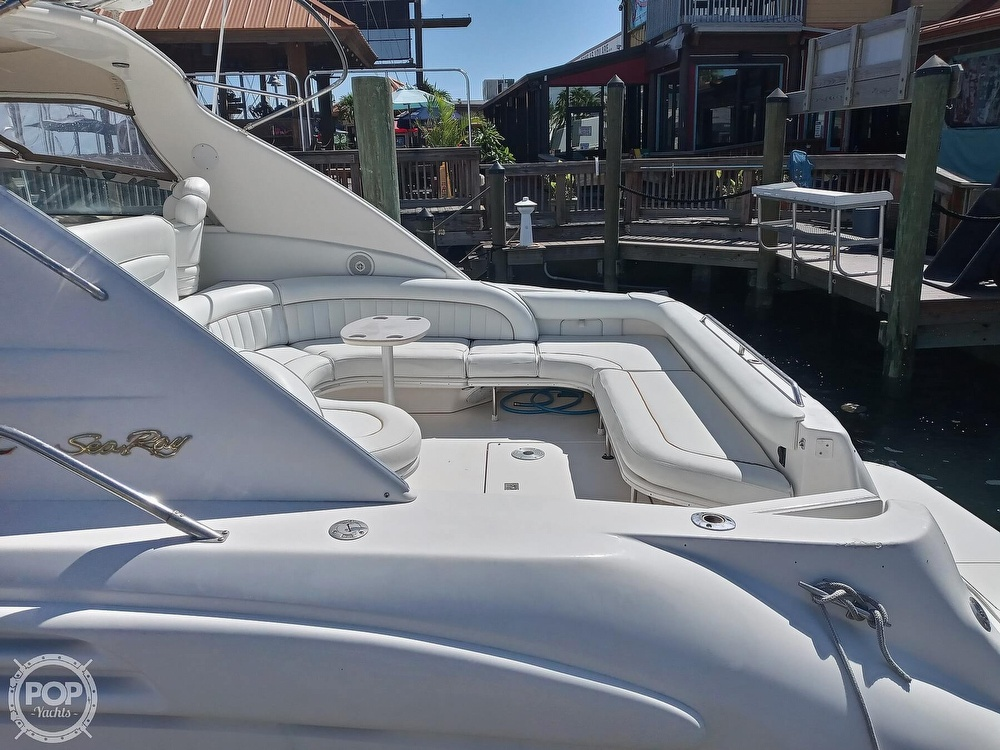 1998 Sea Ray boat for sale, model of the boat is 450 Sundancer & Image # 19 of 40