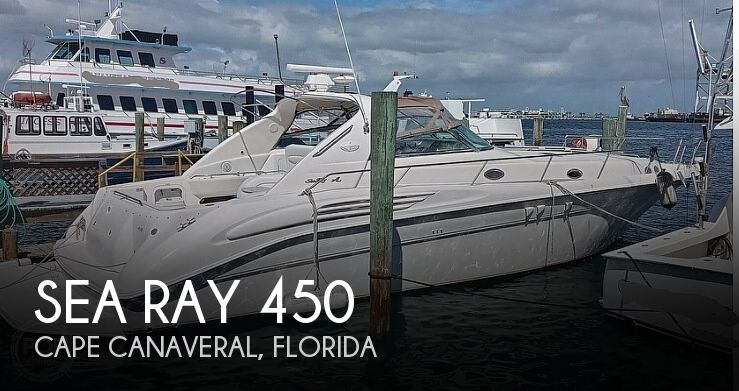 1998 Sea Ray boat for sale, model of the boat is 450 Sundancer & Image # 1 of 40