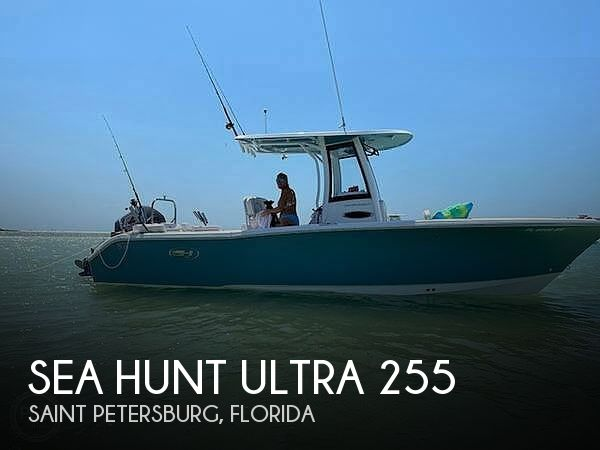 Used Sea Hunt Boats For Sale by owner | 2020 Sea Hunt Ultra 255