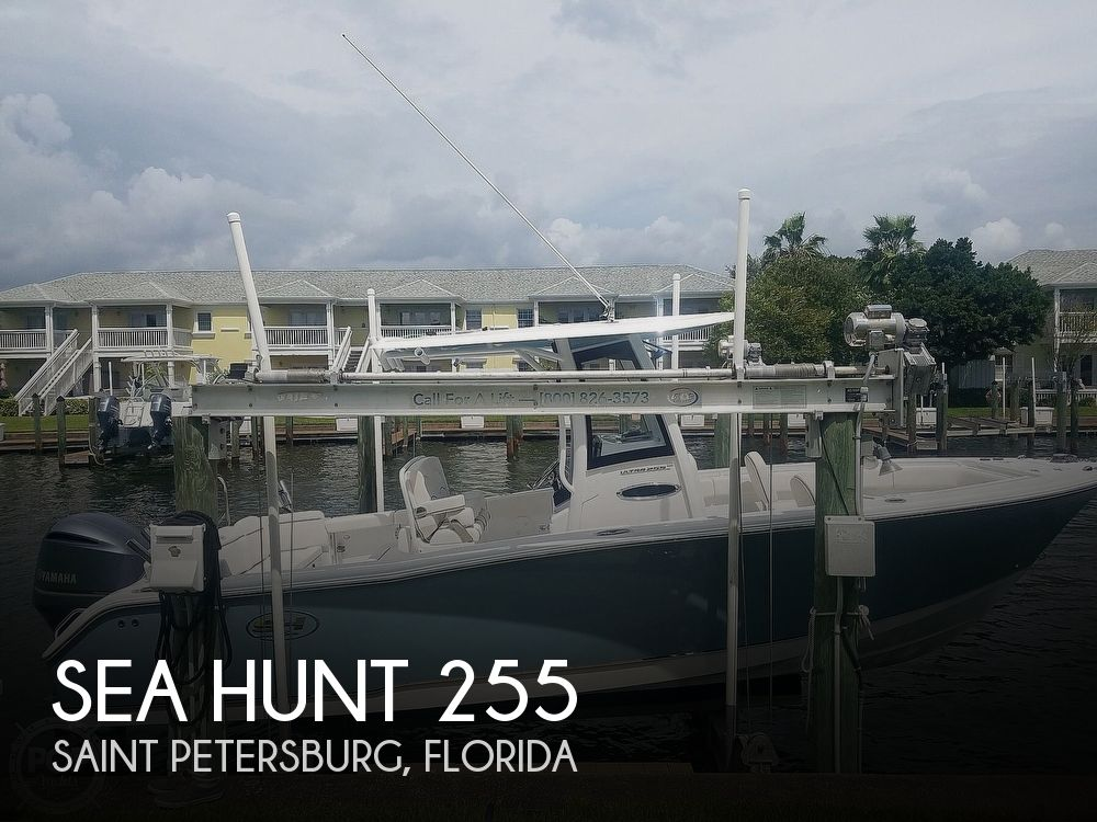 2020 Sea Hunt boat for sale, model of the boat is Ultra 255 SE & Image # 1 of 40
