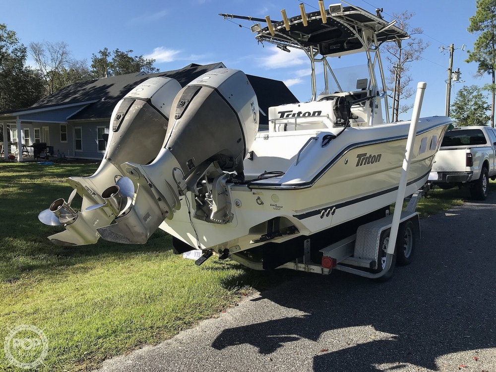 2003 Triton boat for sale, model of the boat is 2486 & Image # 17 of 40