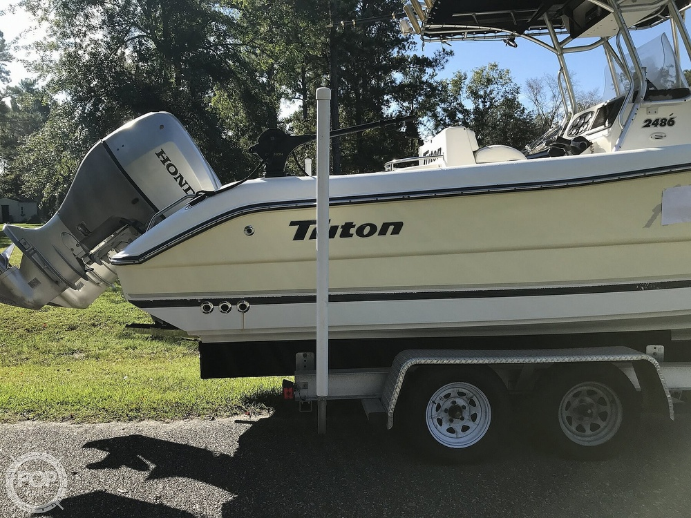 2003 Triton boat for sale, model of the boat is 2486 & Image # 19 of 40