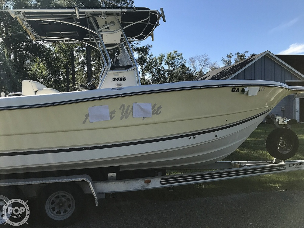 2003 Triton boat for sale, model of the boat is 2486 & Image # 22 of 40
