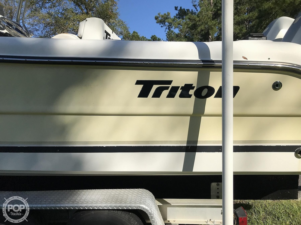 2003 Triton boat for sale, model of the boat is 2486 & Image # 24 of 40