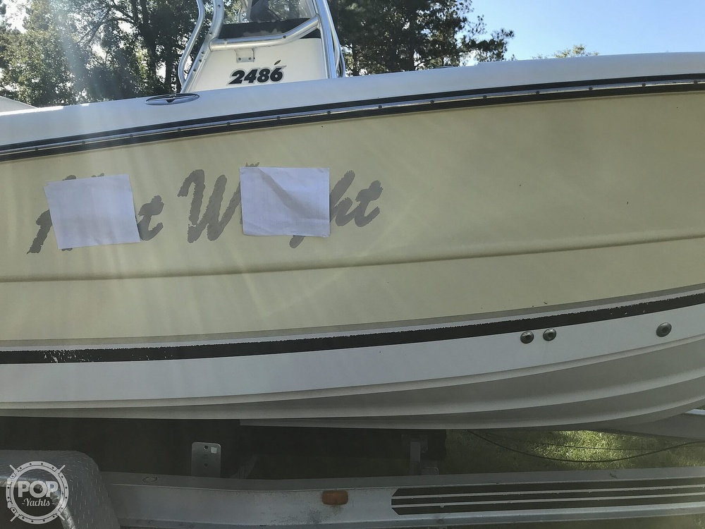 2003 Triton boat for sale, model of the boat is 2486 & Image # 38 of 40