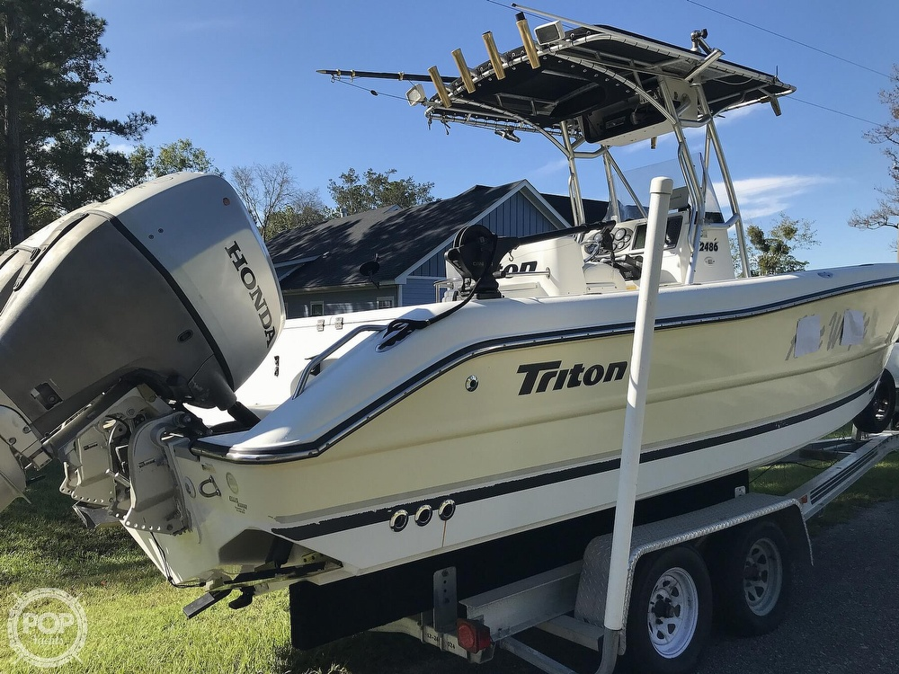 2003 Triton boat for sale, model of the boat is 2486 & Image # 40 of 40