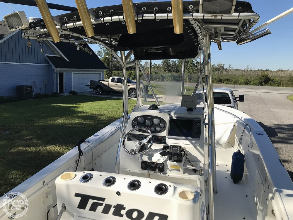 2003 Triton boat for sale, model of the boat is 2486 & Image # 4 of 40