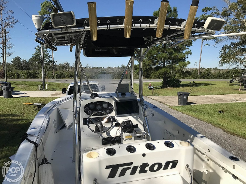 2003 Triton boat for sale, model of the boat is 2486 & Image # 5 of 40
