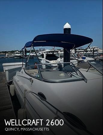 2000 Wellcraft boat for sale, model of the boat is Martinique 2600 & Image # 1 of 3