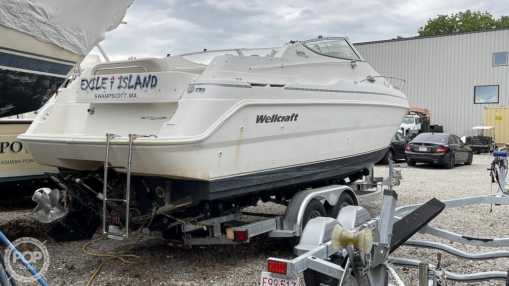 2000 Wellcraft boat for sale, model of the boat is Martinique 2600 & Image # 15 of 40
