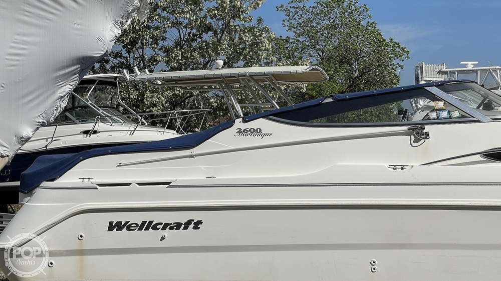 2000 Wellcraft boat for sale, model of the boat is Martinique 2600 & Image # 21 of 40