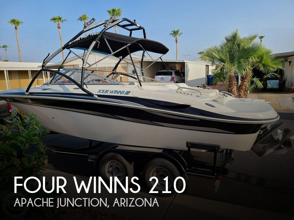 2004 Four Winns boat for sale, model of the boat is 210 Horizon & Image # 1 of 40