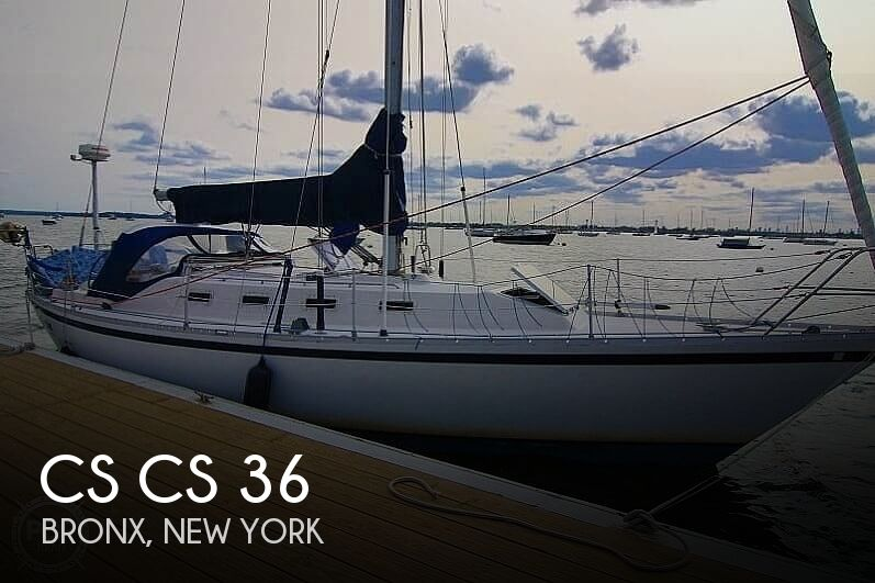1983 Canadian Sailcraft boat for sale, model of the boat is CS 36 & Image # 1 of 40