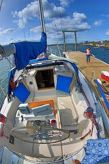 1983 Canadian Sailcraft boat for sale, model of the boat is CS 36 & Image # 4 of 40
