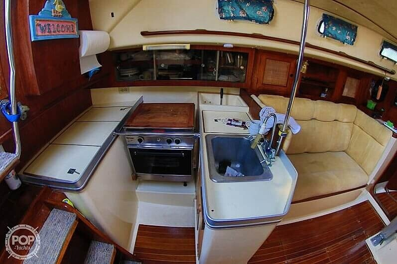 1983 Canadian Sailcraft boat for sale, model of the boat is CS 36 & Image # 14 of 40