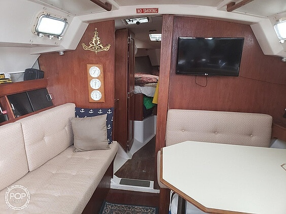1984 Hunter boat for sale, model of the boat is 34 & Image # 6 of 14