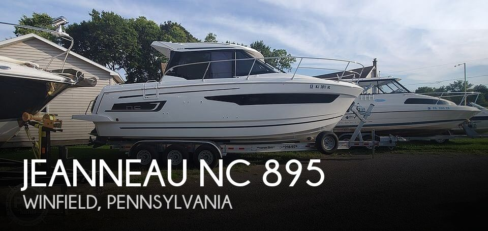 Used Boats For Sale in Reading, Pennsylvania by owner | 2018 Jeanneau NC 895