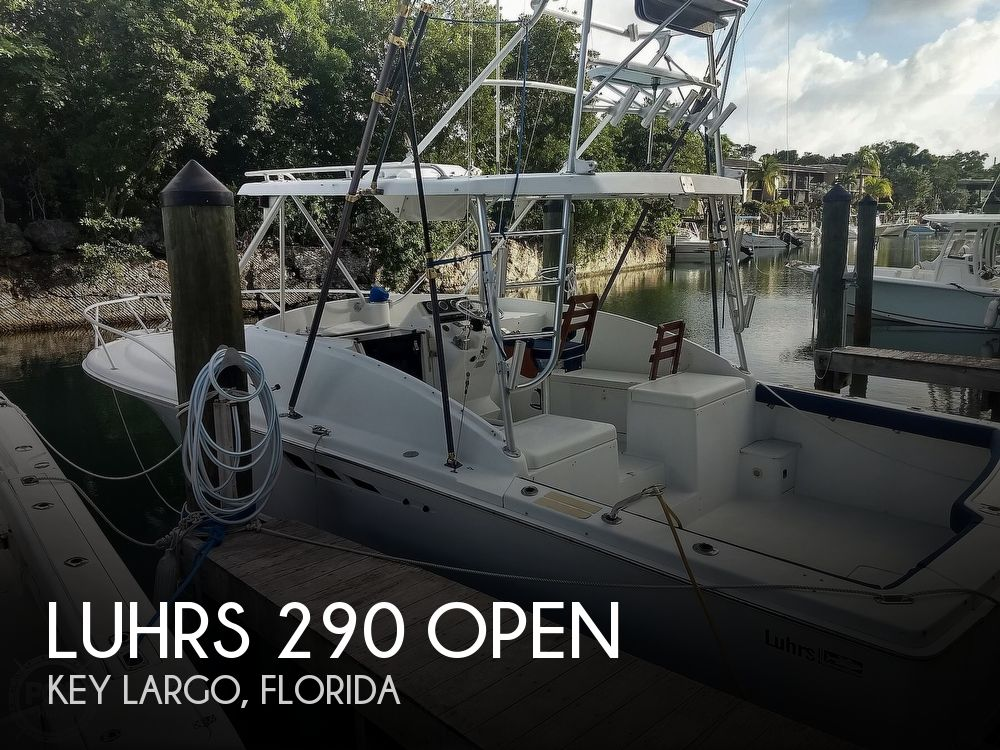 1994 Luhrs boat for sale, model of the boat is 290 Open & Image # 1 of 40