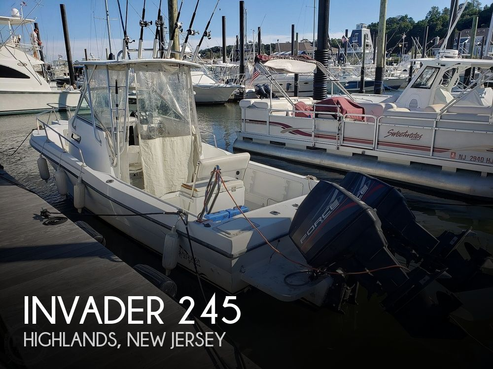 1995 Invader boat for sale, model of the boat is 245 & Image # 1 of 40
