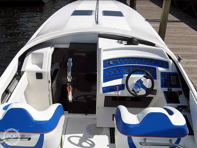 1991 Scarab boat for sale, model of the boat is Excel 38 & Image # 2 of 41