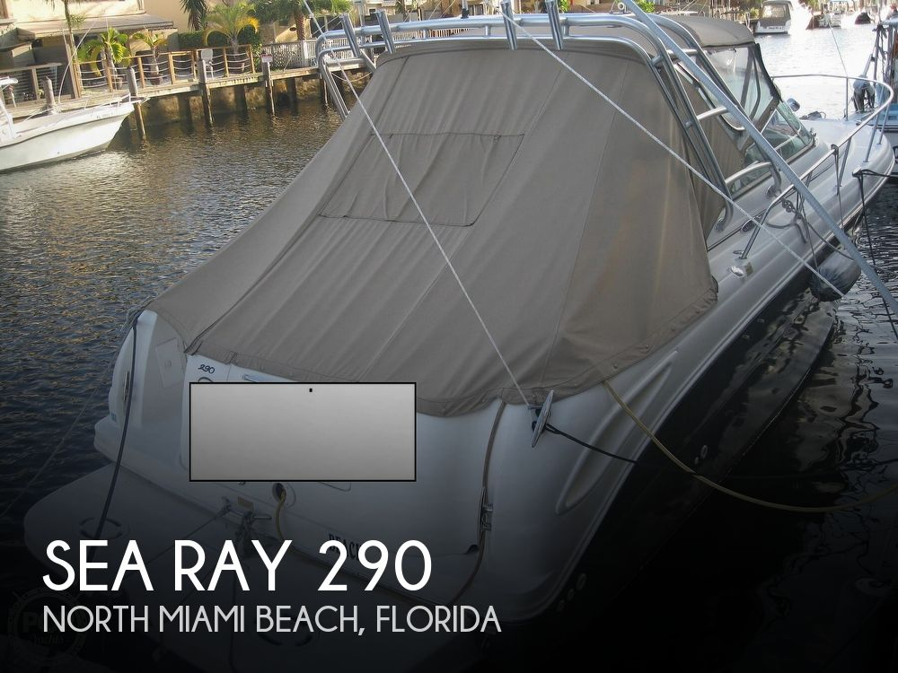 2003 Sea Ray boat for sale, model of the boat is Amberjack 290 & Image # 1 of 40