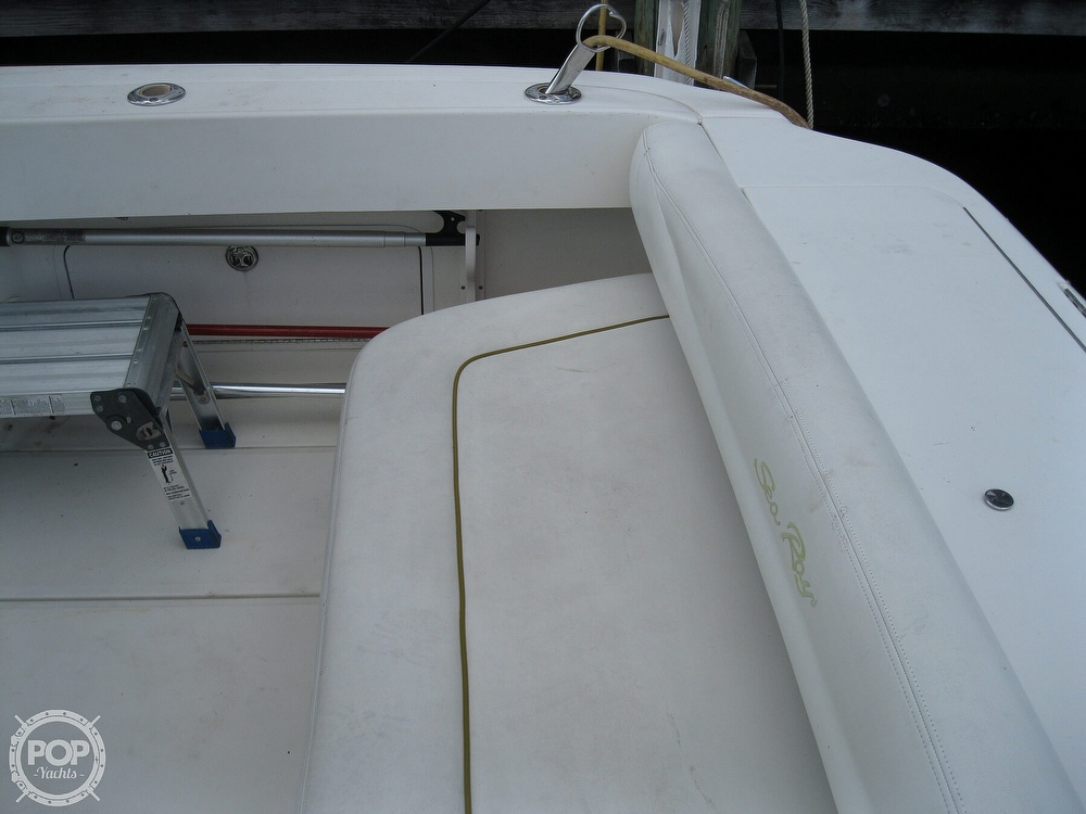 2003 Sea Ray boat for sale, model of the boat is Amberjack 290 & Image # 16 of 40