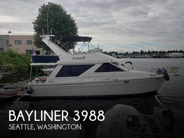 Used Motoryachts For Sale in Washington by owner | 1997 Bayliner 3988