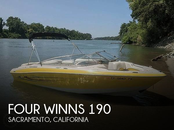 Used Four Winns Horizon Boats For Sale by owner   2005 Four Winns 190 Horizon