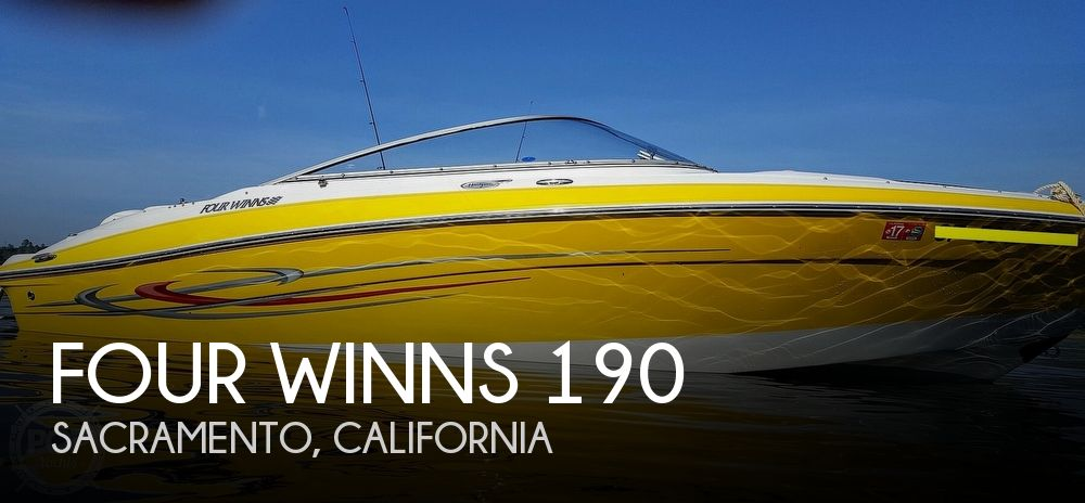 2005 Four Winns boat for sale, model of the boat is 190 Horizon & Image # 1 of 41