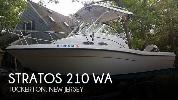 Used Stratos Boats For Sale by owner | 1998 Stratos 210 wa