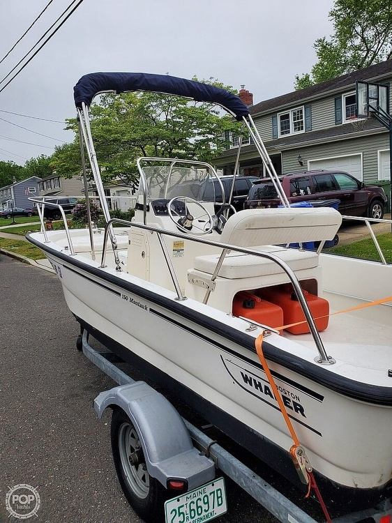 2008 Boston Whaler boat for sale, model of the boat is 150 Montauk & Image # 3 of 4