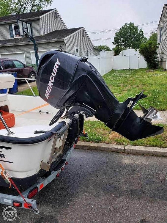 2008 Boston Whaler boat for sale, model of the boat is 150 Montauk & Image # 4 of 4