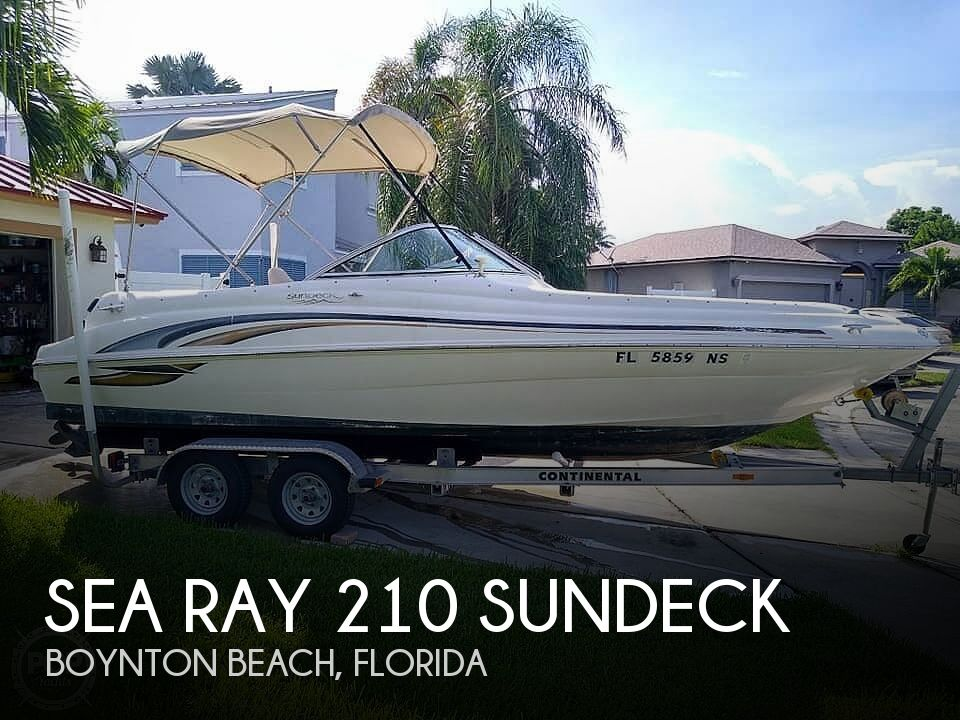 Used Sea Ray 210 Boats For Sale by owner | 2001 Sea Ray Sundeck 210