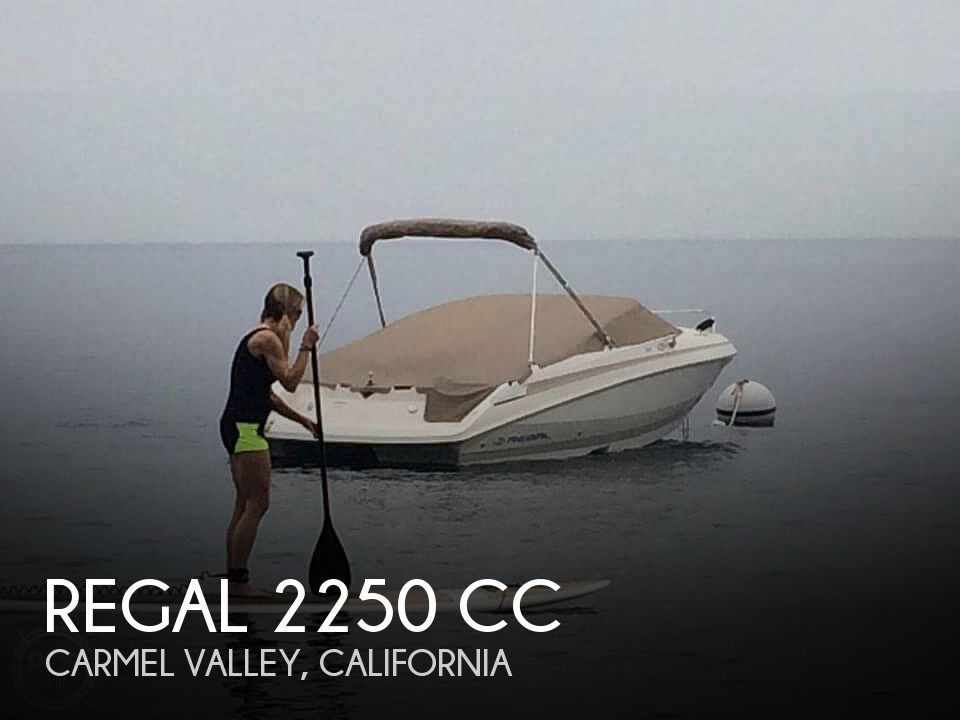 Used Regal Boats For Sale in California by owner | 2004 Regal 2250 CC