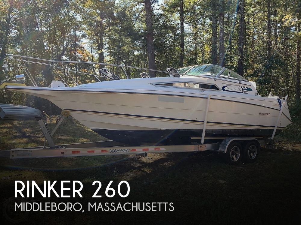 1994 Rinker boat for sale, model of the boat is Fiesta Vee 260 & Image # 1 of 40