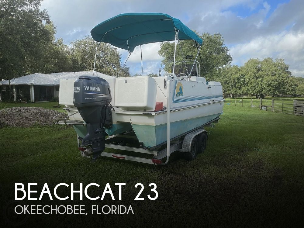 2001 Beachcat boat for sale, model of the boat is 23 & Image # 1 of 41