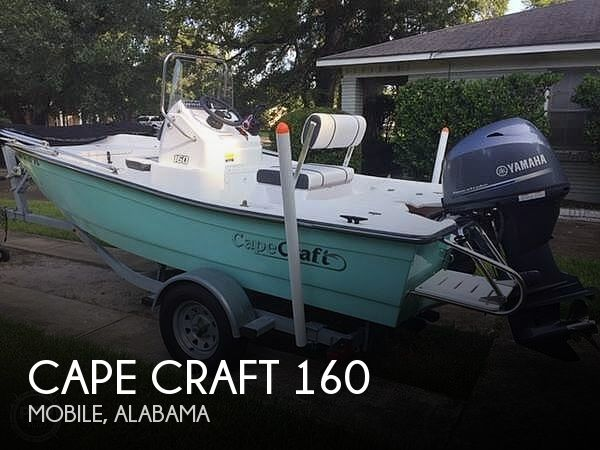 Used CAPE CRAFT Boats For Sale by owner | 2018 Cape Craft 160