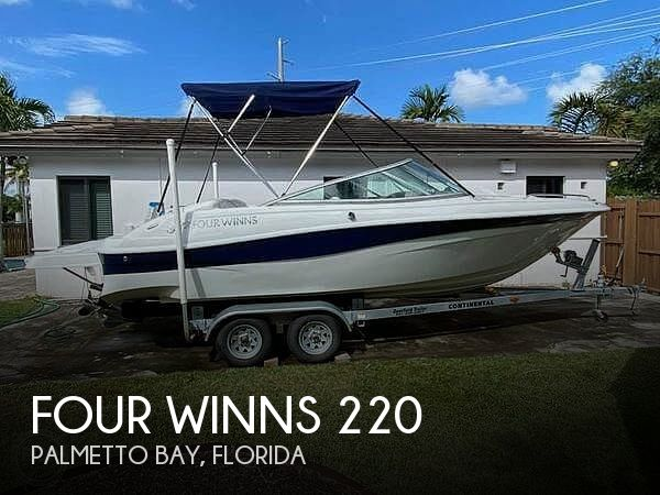 Used Four Winns Horizon Boats For Sale by owner | 2003 Four Winns 220 Horizon
