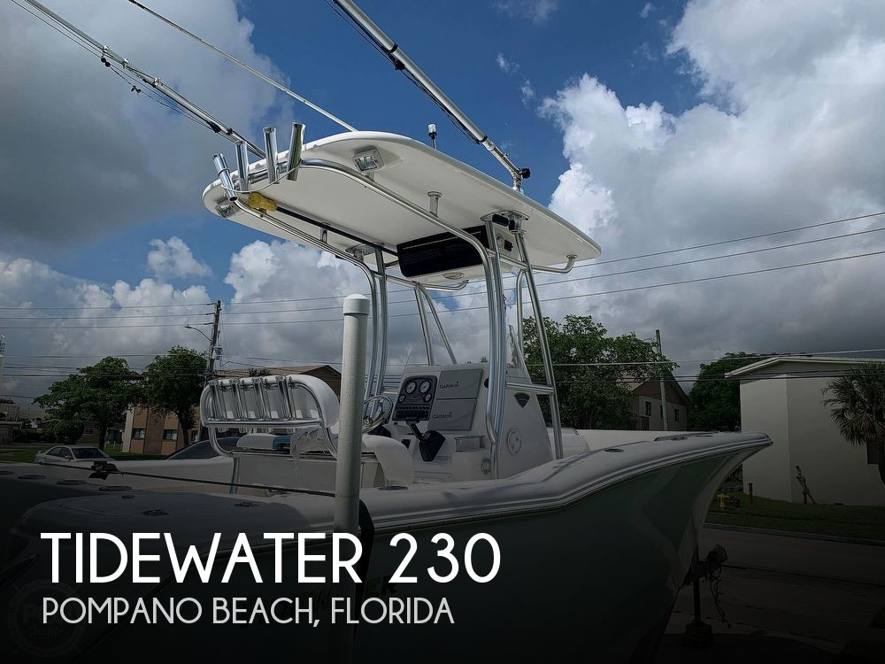 2013 Tidewater boat for sale, model of the boat is 230CC Adventure & Image # 1 of 40