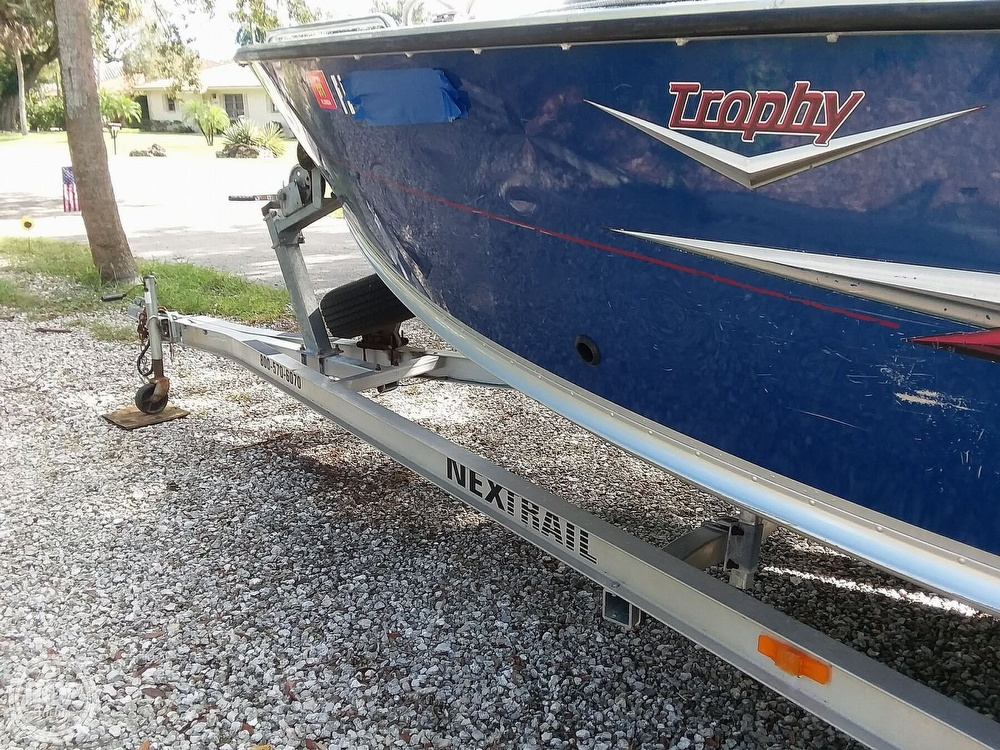 2007 Alumacraft boat for sale, model of the boat is Trophy 185 & Image # 12 of 40