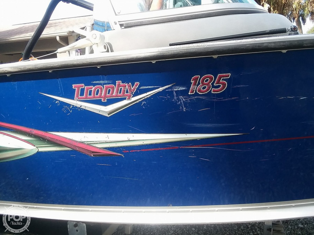 2007 Alumacraft boat for sale, model of the boat is Trophy 185 & Image # 17 of 40
