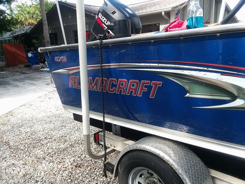 2007 Alumacraft boat for sale, model of the boat is Trophy 185 & Image # 18 of 40