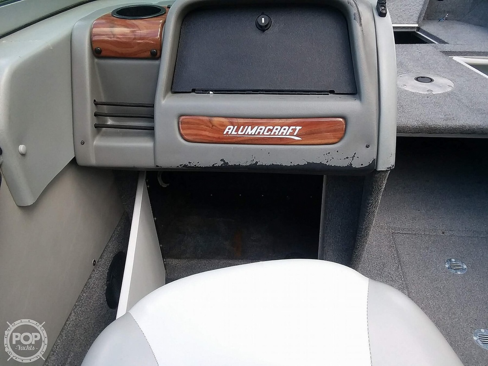 2007 Alumacraft boat for sale, model of the boat is Trophy 185 & Image # 27 of 40