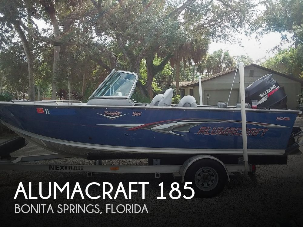 2007 ALUMACRAFT TROPHY 185 for sale