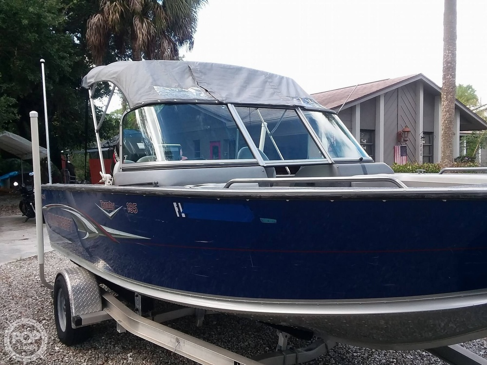 2007 Alumacraft boat for sale, model of the boat is Trophy 185 & Image # 3 of 40